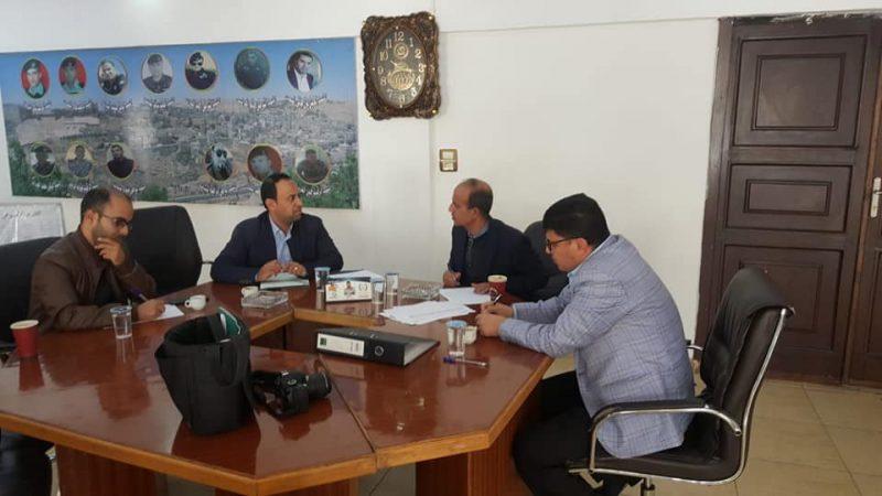 اجتماع أعضاء لجنة مساندة الأعمال