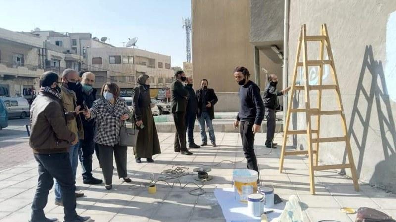 """إطلاق جدارية """"العيش المشترك والتماسك المجتمعي"""""""