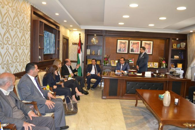 استقبال سعادة السفيرة النرويجية في الأردن